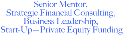 Mentor, Fianancial & Business Consultant, Private Equity